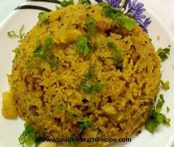 मसाले भात रेसिपी मराठी मध्ये - Masale bhat recipe in marathi