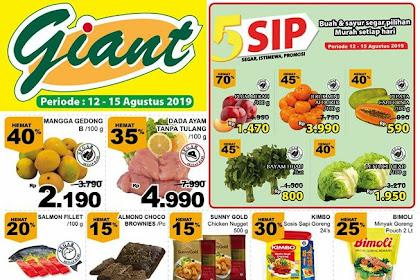 Katalog Promo Giant Weekday Terbaru 19 - 22 Agustus 2019