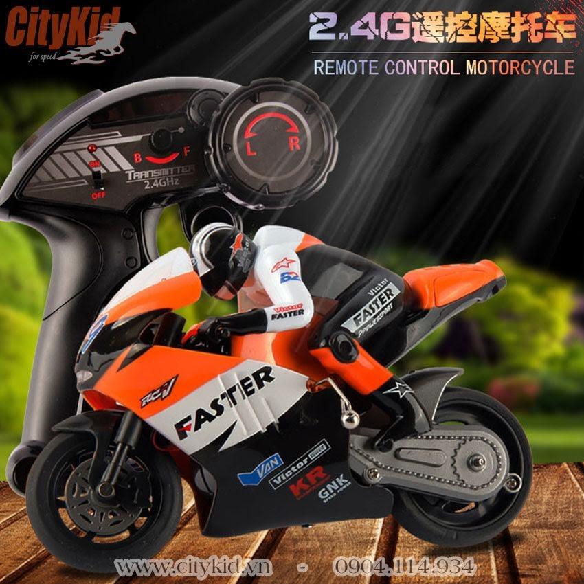 xe mô tô điều khiển từ xa top racing