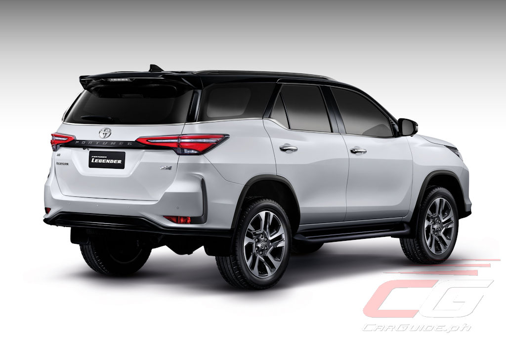 the 2021 toyota fortuner features bump in luxury specs