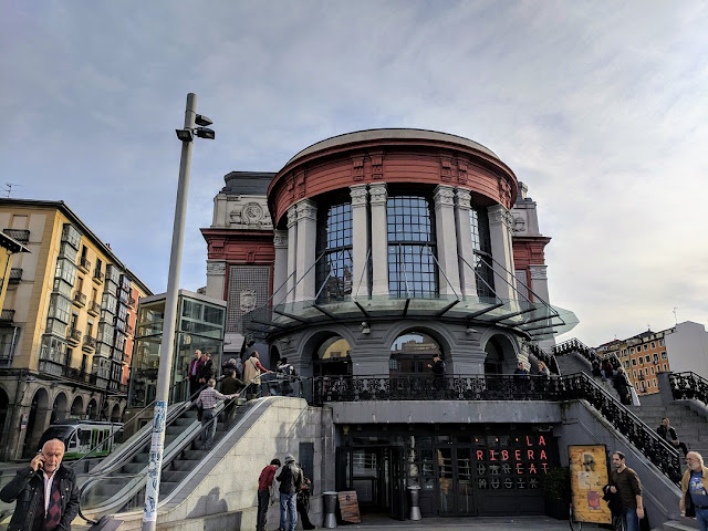 Bilbao One Week Itinerary: Mercado de la Ribera in Bilbao