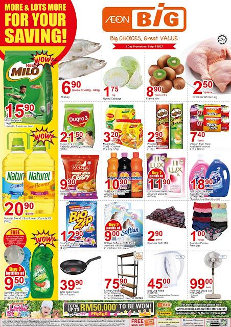 Malaysia AEON Big 1 Day Discount Promo