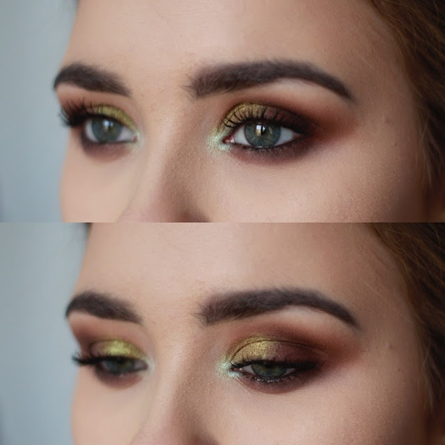 makijaż kocie oko