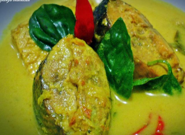 Edisi masakan Minang : Gulai Masin Ikan Tongkol