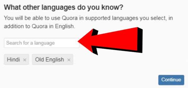 Quora पर कैसे Account बनायें?