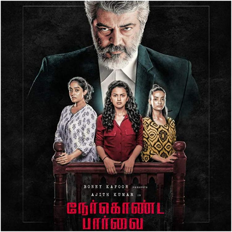 Nerkonda Paarvai movie review: Ajith, Shraddha Srinath shine