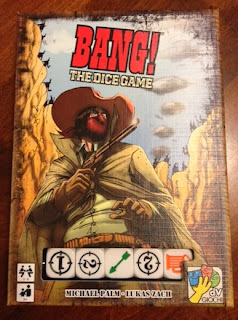 Bang The Dice Game box