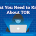 What you need to know about TOR #infographic
