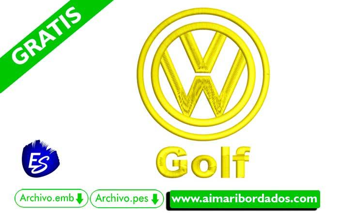 Logo Golf Para Bordar