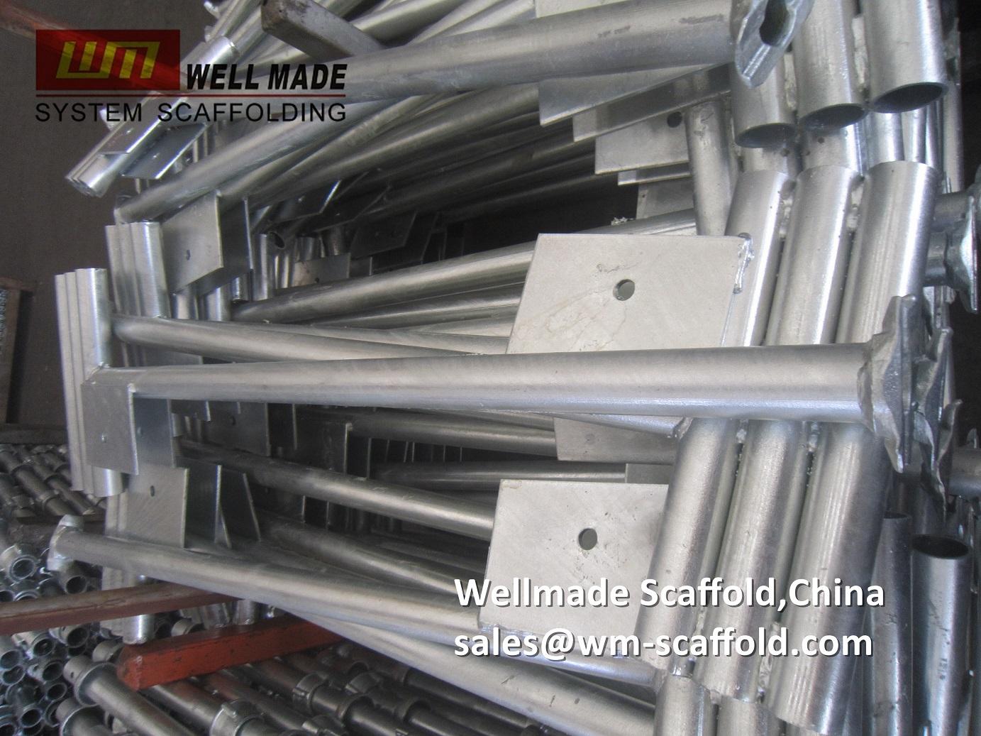 1 5m deep cantilever frame sgb cuplock scaffolding components