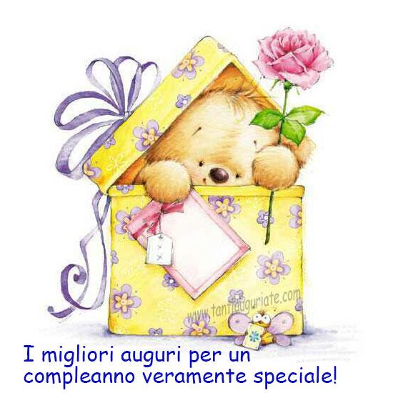 I migliori auguri per un compleanno veramente speciale!   ツ