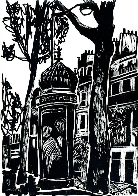 Boulevard St Michel Gwen Tomahawk