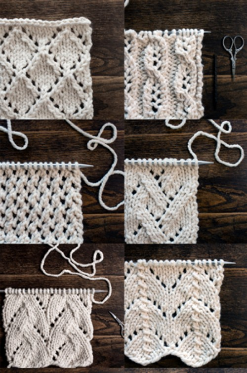 Top 34 Lace Knit Stitches - Tutorials