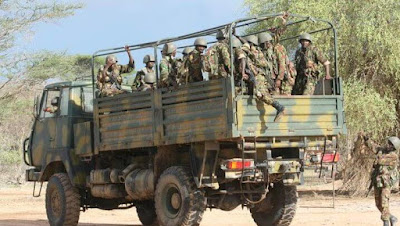 KDF Van heading for a mission