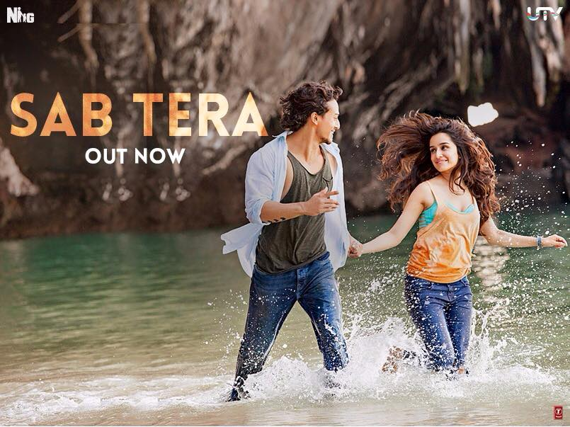 Baaghi Film's New Song 'Sab Tera' is Out! Features Tiger Shroff and Shraddha kapoor Romancing in the Beach
