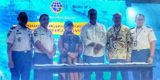 Diluncurkan, Pelayanan Angkutan Tol Laut Berbasis Digital LCS dan PINISHIP