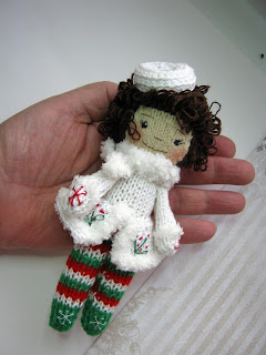 #knitteddolls #dollhandmade #christmastoys
