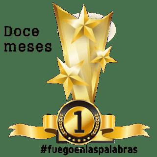 Trofeo doce meses en #fuegoenlaspalabras