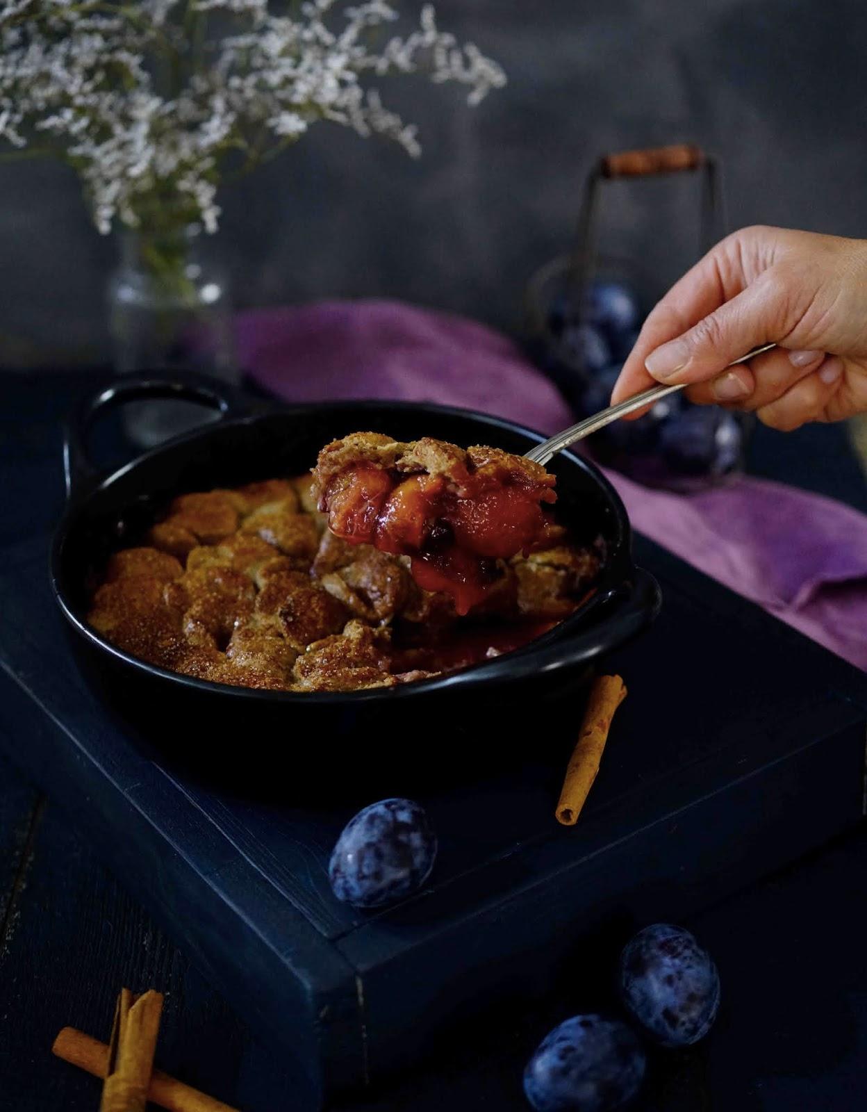 recettes d'automne , quetsches , prunes , dessert facile