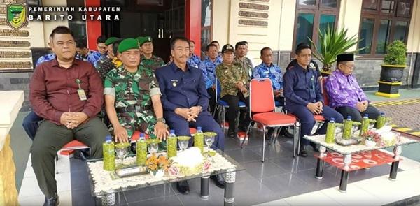 Wabup Barut Hadiri Apel Kesiapan Dan Pergeseran Pasukan PAM TPS