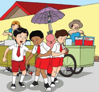 Bahaya Jajanan tidak Sehat di Sekitar Sekolah www.simplenews.me