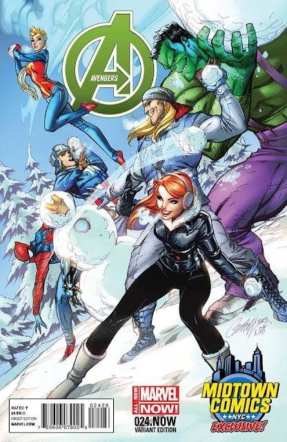 Avengers #24 - Midtown Comics variant