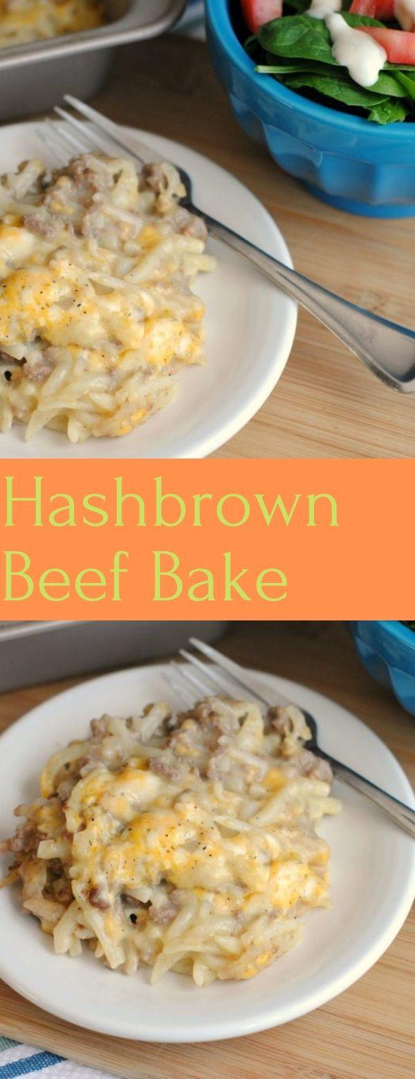 Hashbrown Beef Bake
