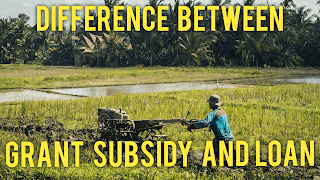 Grant, Subsidy, Loan, agriculture