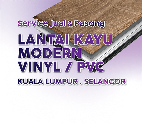 Lantai Kayu VINYL / PVC