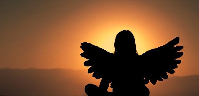 Oración para llamar a los Ángeles en el atardecer