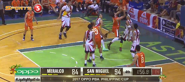 San Miguel def. Meralco, 101-86 (REPLAY VIDEO) December 28