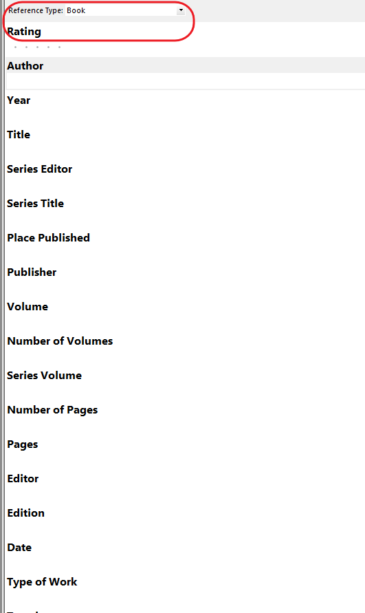 EndNote & Know: 找不到可匯入的Reference時。怎麼辦?建立參考文獻方式二:新增空白文獻