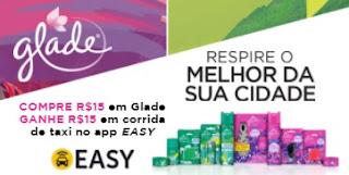 Cadastrar Promoção Glade Compre Ganhe 15 Reais APP Easy