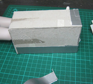 making mould for dolls leg