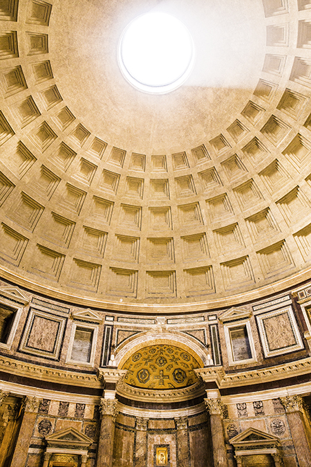 Rome, Italy by Posh, Broke, & Bored - Pantheon