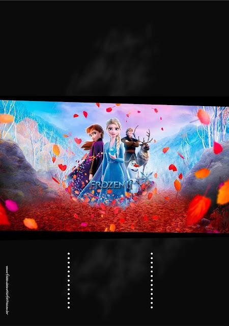Frozen 2: Free Printable Invitations.