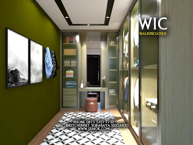 wardrobe - walk in closed