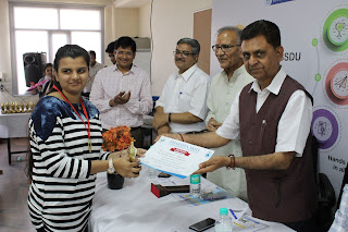 Bhartiya Skill Development University felicitated students from 'Talent Search Exam' among nearly 3000 students from across Rajasthan