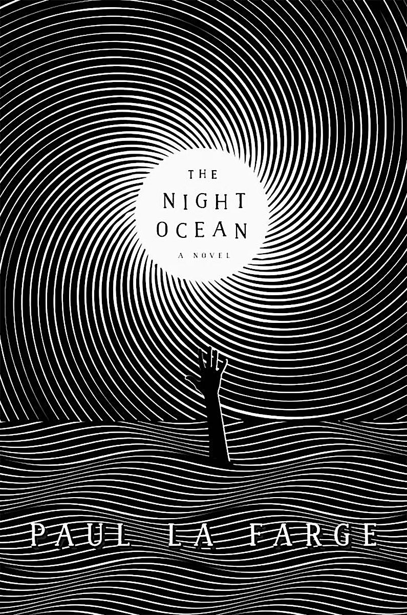 a Stephan Alcorn illustration 2017, for The Night Ocean by Paul le Farge