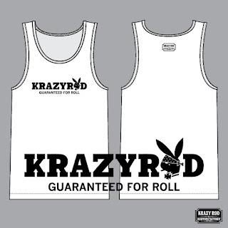"KRAZY ROD TANK-TOP ""K.R.RABBIT HEAD"""