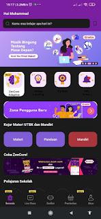 Cara Download Aplikasi Zenius dan Memakai Fitur ZenCore