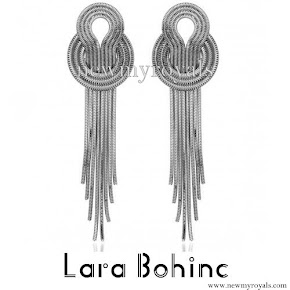 Princess Sofia wore Lara Bohinc Saturn Earrings
