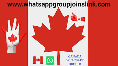 🍁 Canada Whatsapp Group Link | Canada WhatsApp Group Joins Link