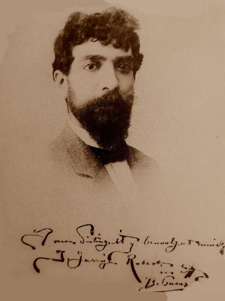 Retrato de Josep Garriga i Robert en 1890