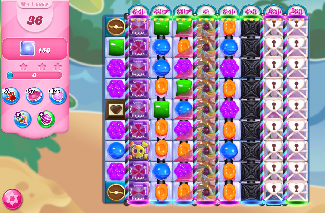 Candy Crush Saga level 8985