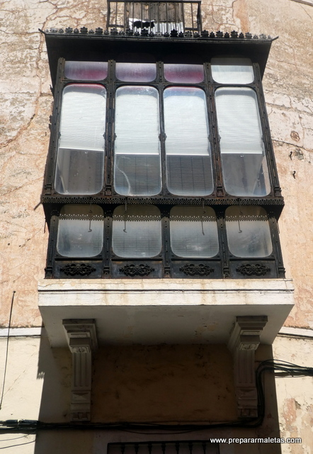 detalles de edificios centro de Badajoz