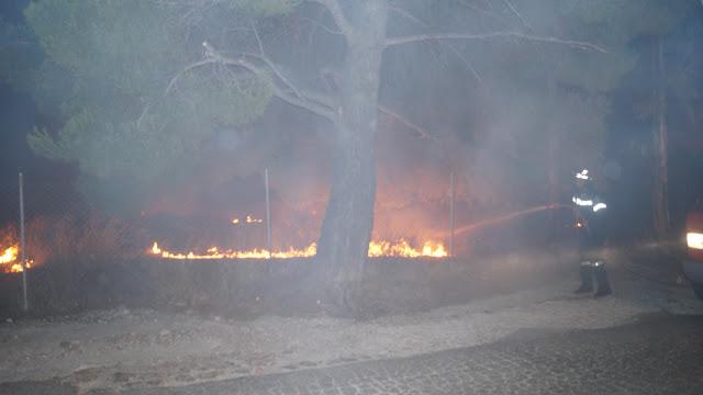 Ακαριαία, ουσιαστική και αποτελεσματική συμβολή του Πυροσβεστικού  οχήματος  της πυρασφάλειας του δήμου μας  στην κατάσβεση  πυρκαγιάς που εκδηλώθηκε στη Δήμο Παλλήνης Δ/Ε Ανθούσας