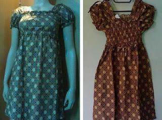 Gaun Batik Batik Anak Baju Batik Gaun Batik Cantik Untuk Anak Anak