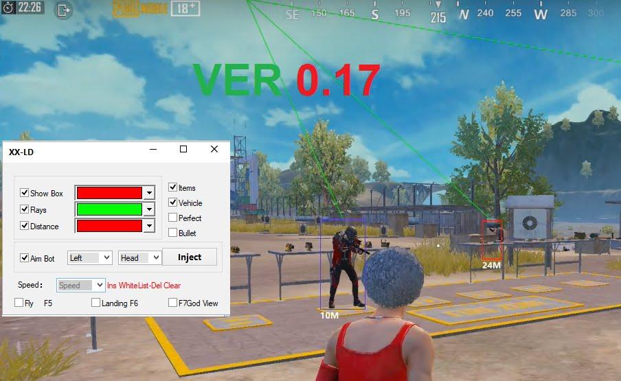 XX-LD Hax Pubg Mobile 0.17 | LD Player Emulator