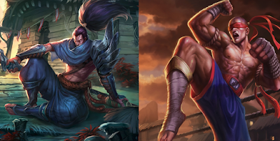 Yasuo ve Lee sin ikilisi